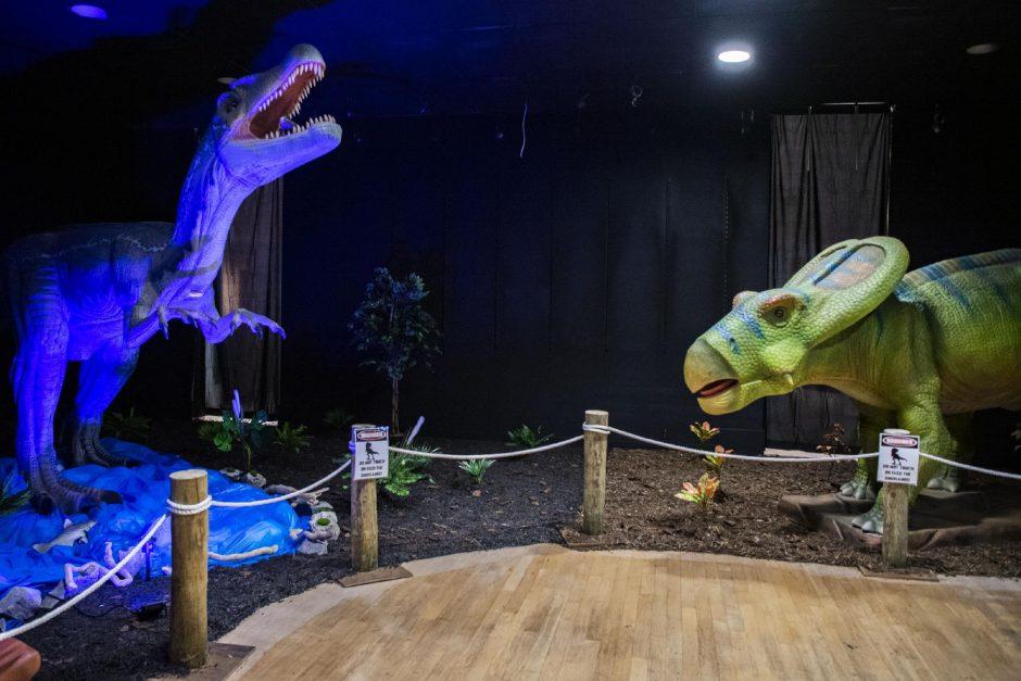 The recently opened Via Dino Discovery exhibit atViaPortmall in Rotterdam.