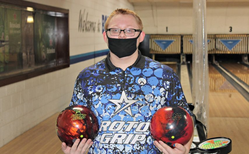 Schalmont's David Squires started his season with a 300 game. (Photo provided)