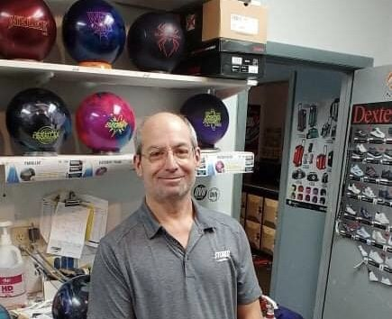 Starlite Lanes owner Lew LaBahn can do it all in the bowling business, including shooting scratch scores with either hand.