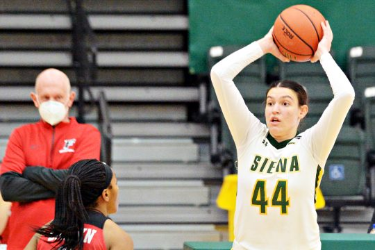 Siena plays Sunday and Monday at Canisius. (Gazette file photo)