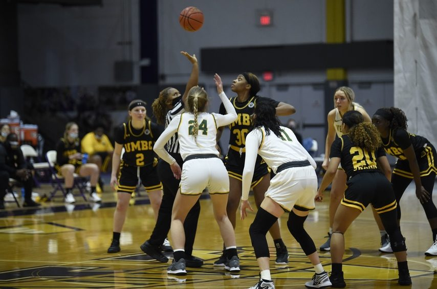 The Vermont and UMBC women's basketball teams tip off at SEFCU Arena on Sunday.