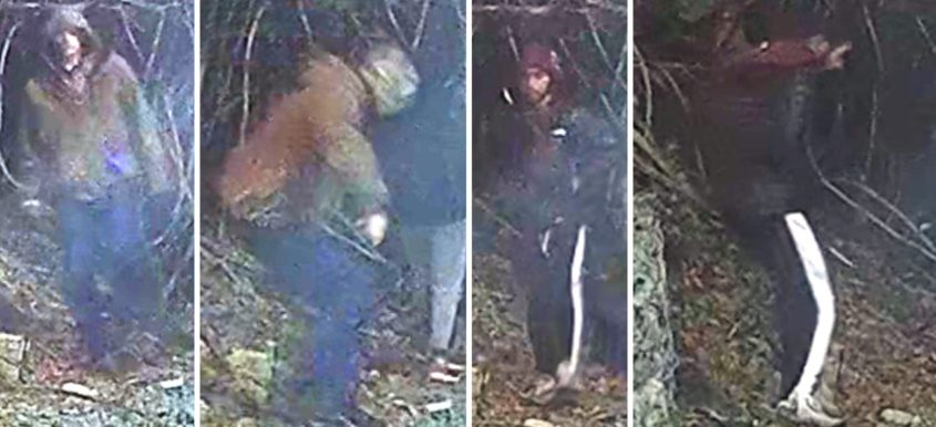 The photos released by Amsterdam police.