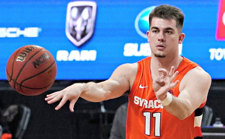 Syracuse sophomore Joseph Girard III is shown earlier this season. (The Associated Press)