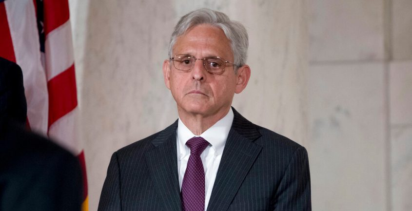 Former President Barack Obama's Supreme Court nominee Merrick Garland