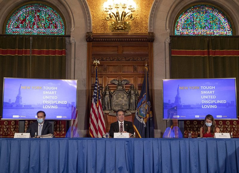 Governor Andrew Cuomo this week - Governor's Office