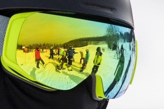 Maple Ski Ridge instructor Genesis Dumlao of Guilderland waits in line at the ski area  Saturday.