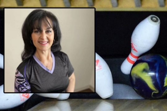 Denise DeCarlo has been one of the top female bowlers in the region for more than three decades. Provided