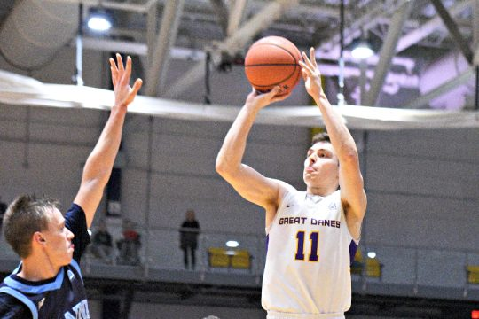 UAlbany is hopeful that Cameron Healy will be able to play this weekend. (Gazette file photo)