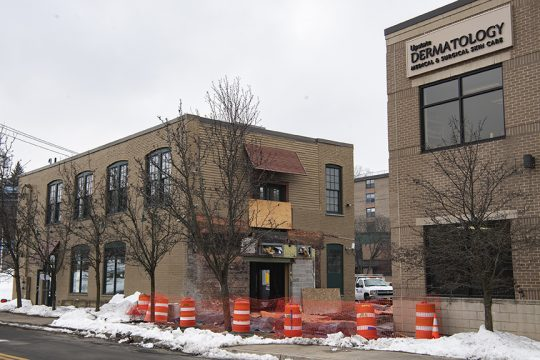 Tenant Upstate Dermatology announced its plans to buy and redevelop the buildings at 318 Broadway and 461 Clinton Street Extension in Schenectady on Friday, Jan. 15, 2021.