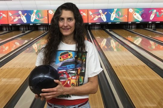 Bob Weiner photoJeanne Mastro bowls four times a week, including practice, and also works part-time at Sporstman's Bowl.