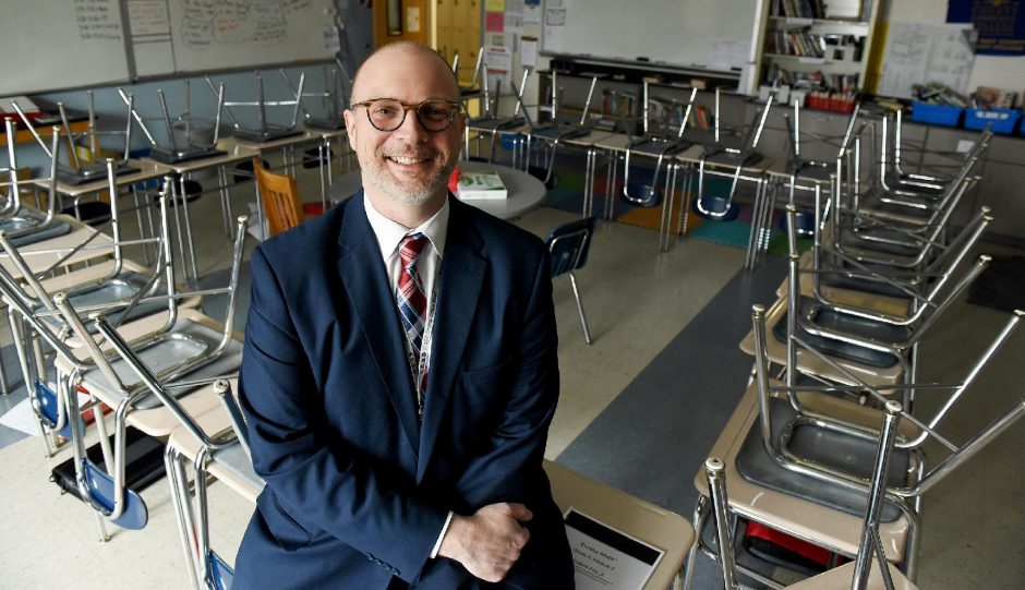 Schenectady City Schools Acting Superintendent Dr. Arron Bochniak in a file photo