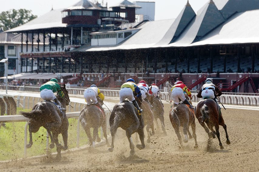 ERICA MILLER/STAFF PHOTOGRAPHER The 2021 Saratoga Race Course meet will open on Thursday, July 15..