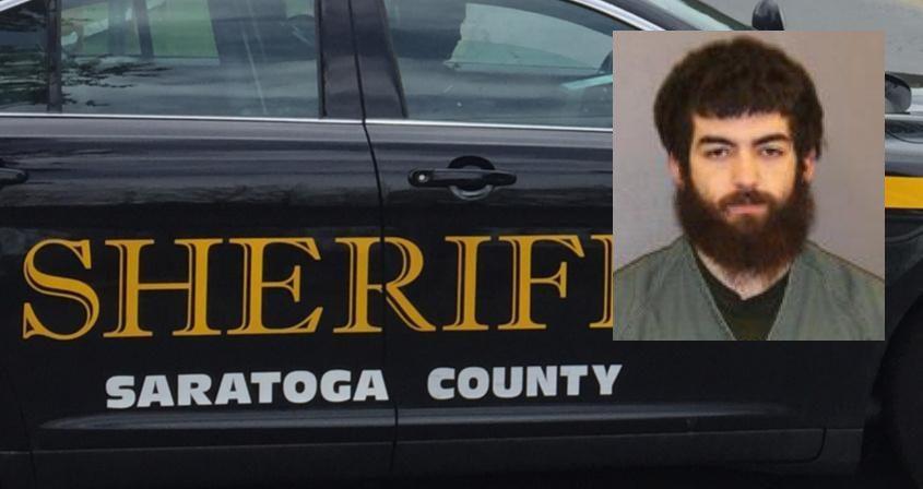 Jack L. Jeffers - Saratoga County Sheriff (Inset) File (Background)