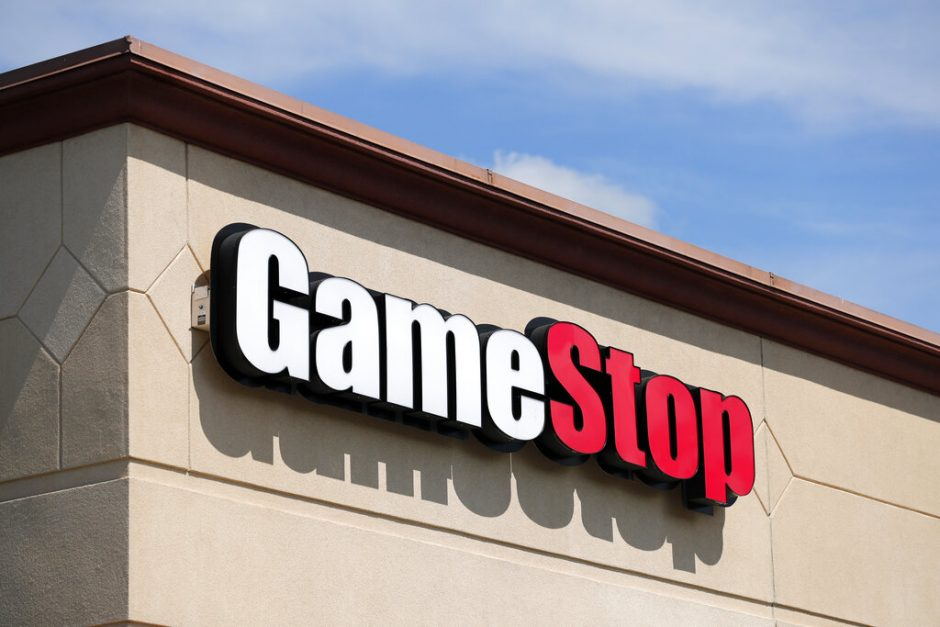 A GameStop store in a file photo.