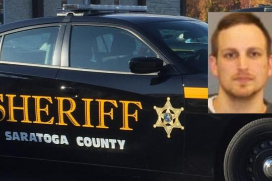 Darren A. Moore - Saratoga County Sheriff's Office (inset) File (Background)
