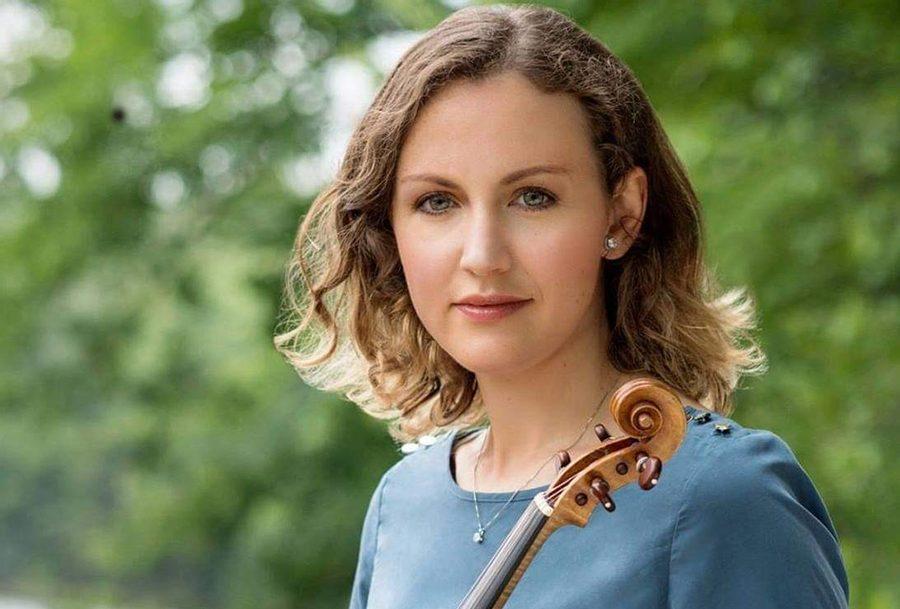Aleksandra Labinska is a member of the Albany Symphony Orchestra and a teacher at Luzerne Music Center. (Joy Strotz photo)