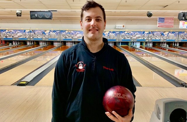 Photo providedAnthony Scaccia has renewed enthusiasm for bowling after his pitching career ended by injury. He runs the pro shop at Town & Country lanes for his proprietor father.