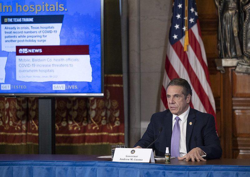Gov. Andrew Cuomo Thursday - Governor's Office