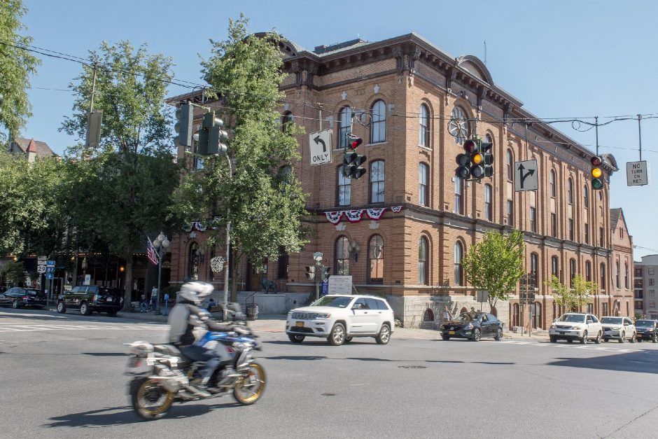 Saratoga Springs City Hall in September