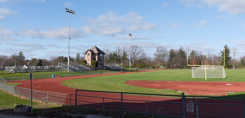 Niskayuna High School is one of the few Suburban Council schools remaining that plays football on a grass field.