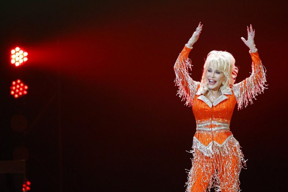 Dolly Parton performs in concert on May 27, 2014, in Knoxville, Tenn.