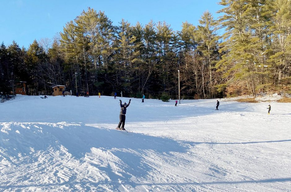 Dynamite Hill offers a ski option in Chestertown. (Phil Johnson/For The Daily Gazette)