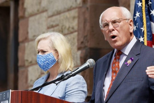 Congressman Paul Tonko speaks during an August press conference