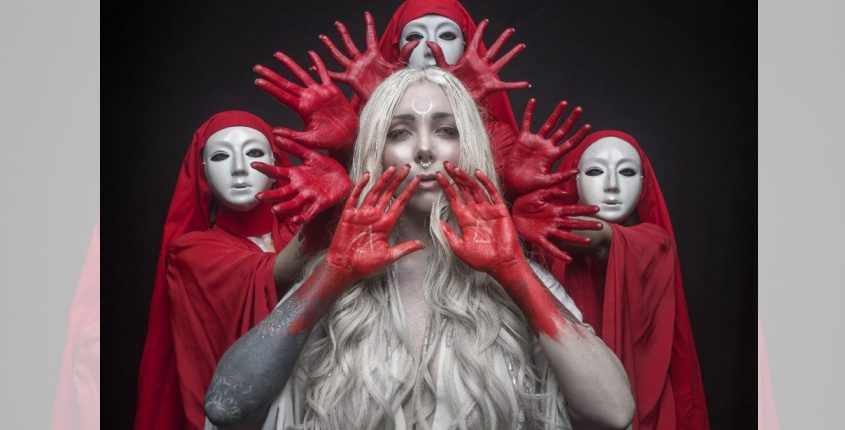 Maria Brink, an Electric City native, could soon be honored, as part of In This Moment, with a Grammy.Photo provided