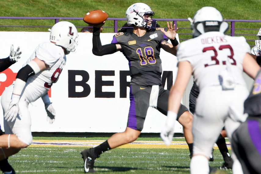 UAlbany quarterback Jeff Undercuffler threw for a program-record and FCS-leading 41 touchdown passes in 2019.
