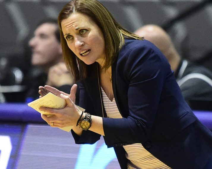 UAlbany women's basketball coach Colleen Mullen saw her team put together a late run and overhaul Binghamton 43-38 in an America East Conference game Saturday at the Events Center in Vestal.