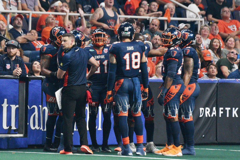 The Albany Empire will have to wait a little longer to begin play in the National Arena League.