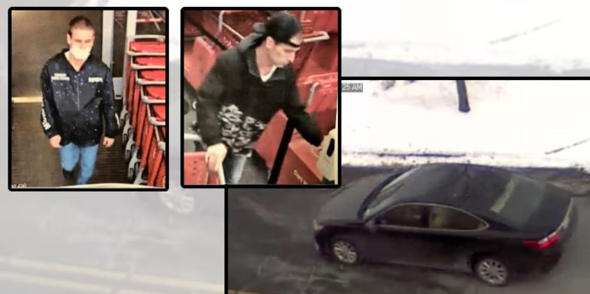 Surveillance photos released by state police Wednesday - New York State Police