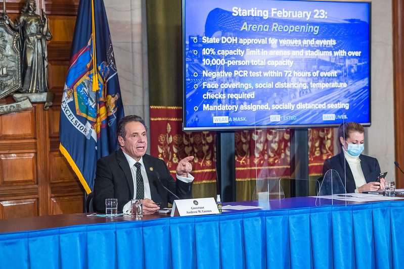 Gov. Andrew Cuomo Wednesday - Governor's Office