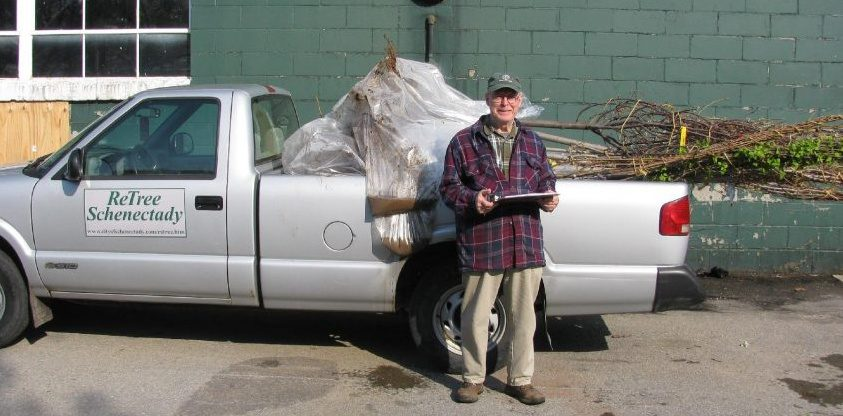 Stan Hickock, a steadfast volunteer with ReTree Schenectady, died recently from complications due to COVID-19. Provided