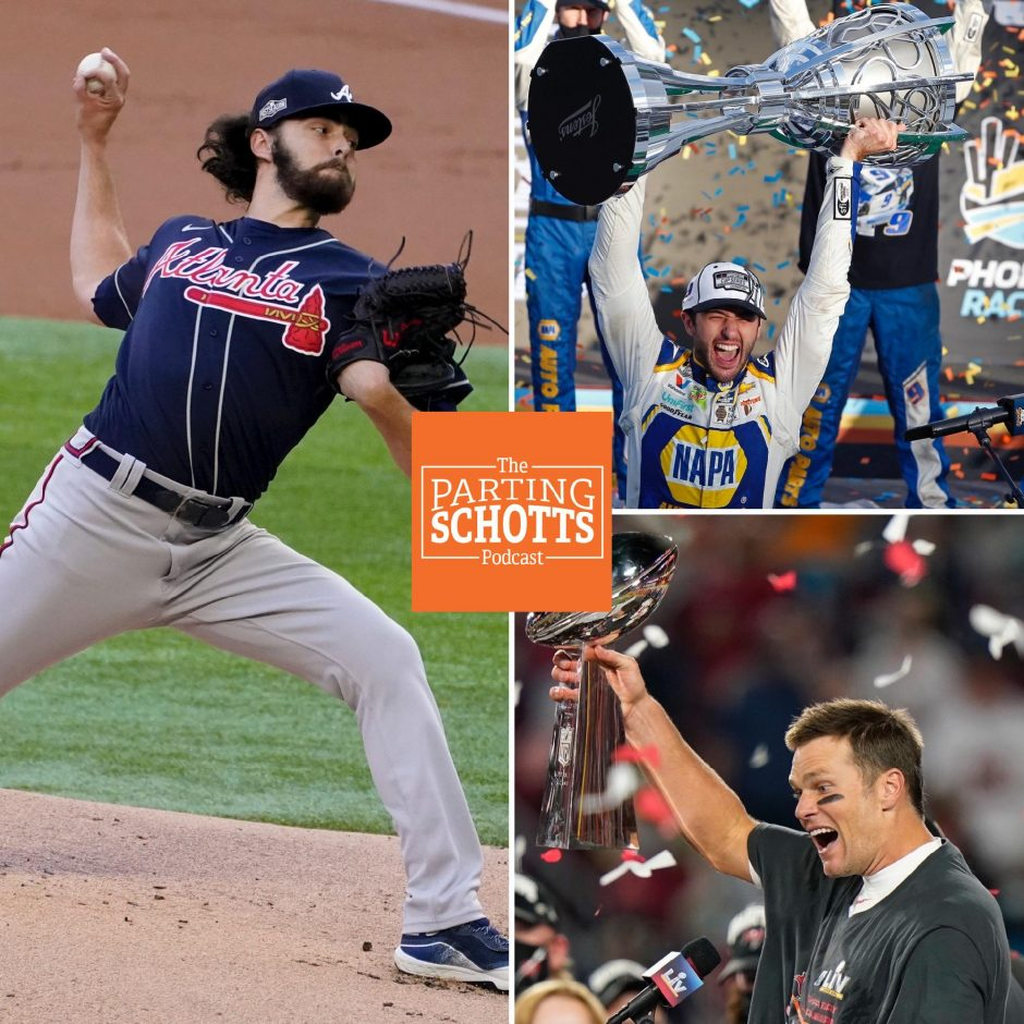 Shenenedehowa grad and Atlanta Braves pitcher Ian Anderson, NASCAR talk and Tom Brady winning another Super Bowl are this week's topics on 'The Parting Schotts Podcast.'