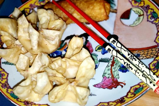 Crab Rangoon at Great Wall. (Beverly M. Elander)