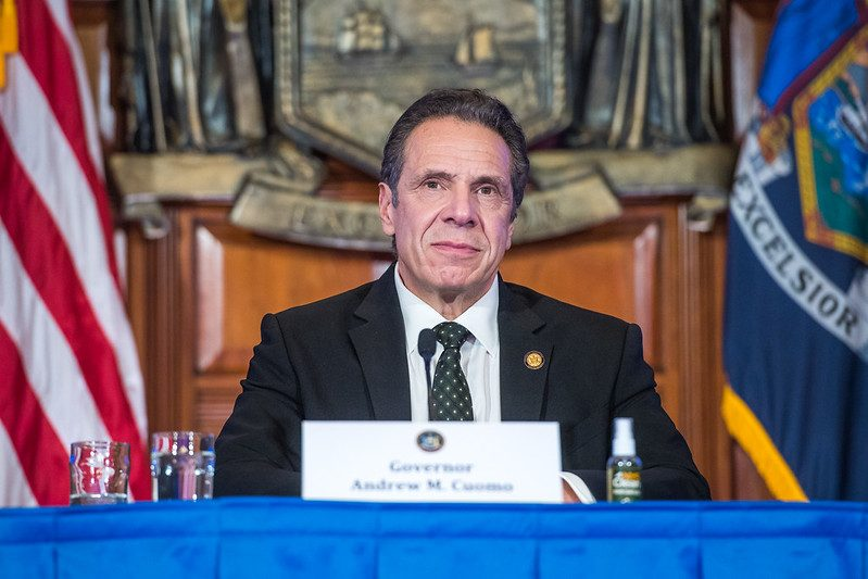 Gov. Andrew Cuomo recently - Governor's Office