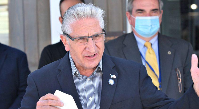 NY State Senator Jim Tedisco (R-Glenville) in August