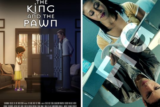 """The King and the Pawn"" and ""Fig"" are two of the films in the series. (photos provided)"