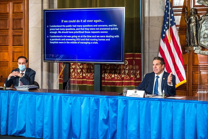 Gov. Andrew Cuomo this week - Governor's Office