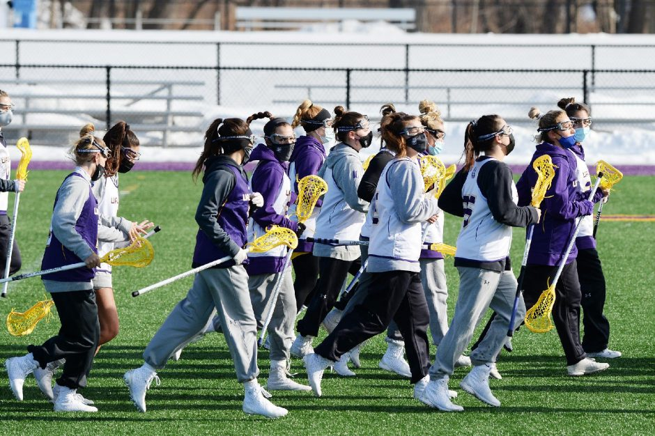 ERICA MILLER/THE DAILY GAZETTE The UAlbany women's lacrosse opener at Boston College on Saturday was postponed.