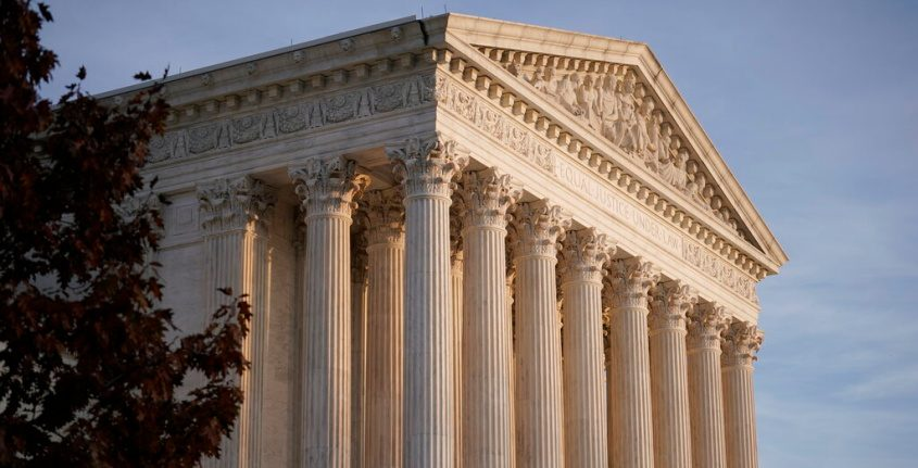 This Nov. 5, 2020 file photo, shows the Supreme Court in Washington