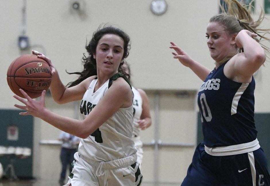 DAILY GAZETTE FILE PHOTOPayton Graber scored 23 points in Schalmont's victory over Albany Academy.