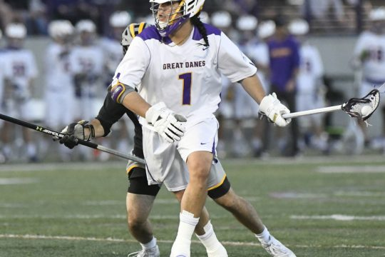 PETER R. BARBER/GAZETTE PHOTOGRAPHERTehoka Nanticoke will be among the players unavailable for UAlbany's opener on Saturday because of COVID-19 protocols.