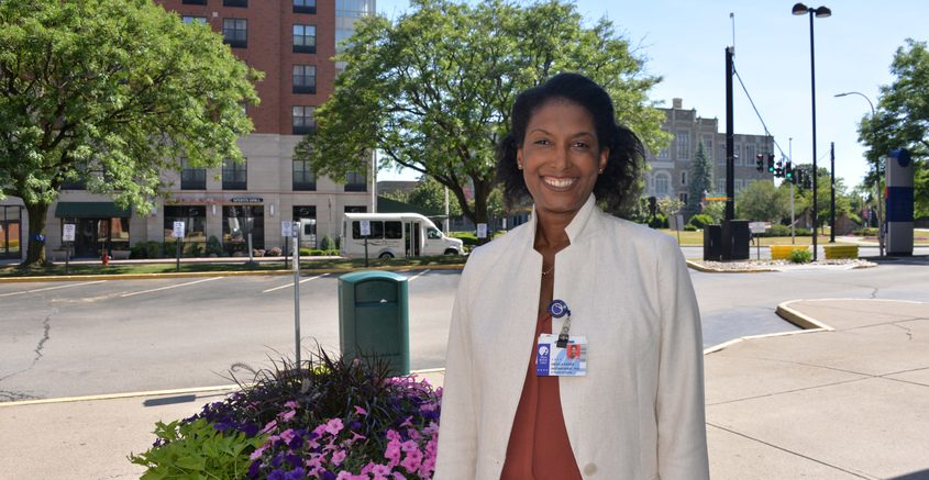 Angela Antonikowski, Albany Medical Center's Chief Officer of Health Equity, Diversity and Inclusion