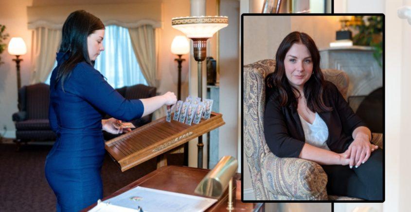 Erin Salie with Betz, Rossi, Bellinger & Stewart Family Funeral Homes