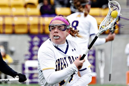 UAlbany's Hailey Carroll scored four goals in Thursday's win. (Gazette file photo)