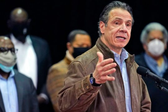 Gov. Andrew Cuomo during a press conference last week -AP Photo/Seth Wenig, Pool, File