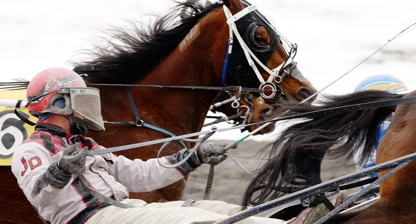 Saratoga Harness Racing opens for its 80th season, without fans, kicking off with the third race at Saratoga Casino and Raceway in Saratoga Springs on Monday