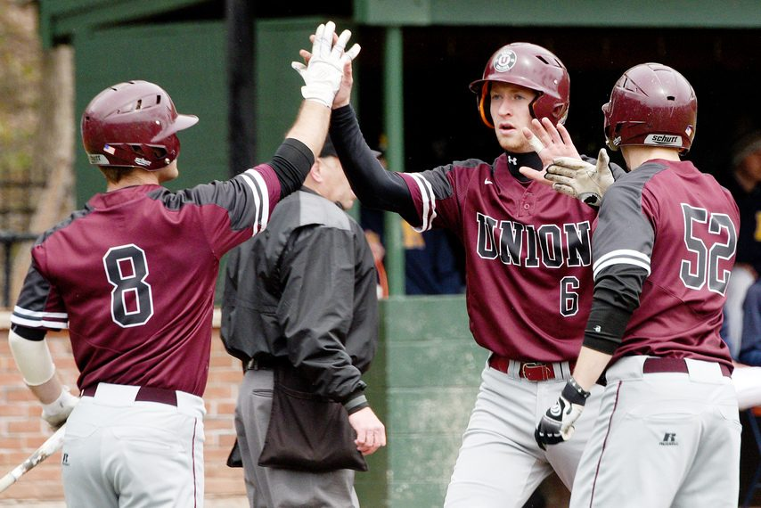 Union College will hold a season for its spring sports teams, including baseball. (ERICA MILLER/GAZETTE PHOTOGRAPHER)